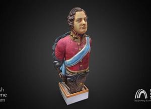 "Figurehead of HMS ""Prince Of Wales"" 3D-model"