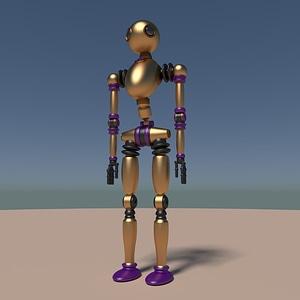 Ant Robot 3D Model