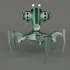 Guard Droid 3D Model
