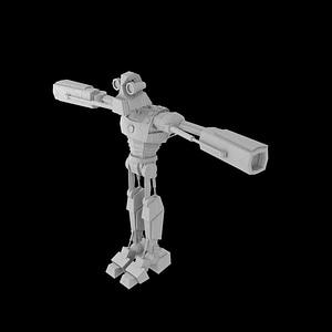 Ralph the Robot 3D Model