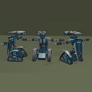 Rover Robot 3D Model
