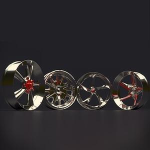 Set of Rim 3D Model