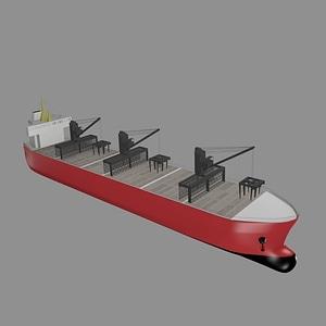Cargo-Ship 3D Model
