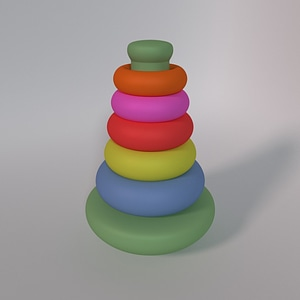Stacking Toy 3D-malli