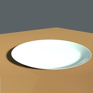 Simple Plate 3D Model