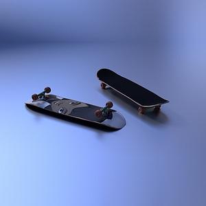Skateboard 3D Model