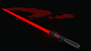 Darth Vader Light Saber 3D Model