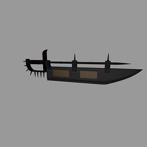 Fantasy Sword 3D-модель