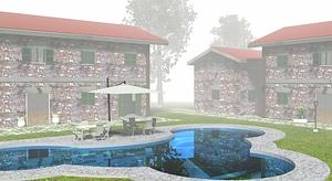 Tuscan Farm House 3D Model