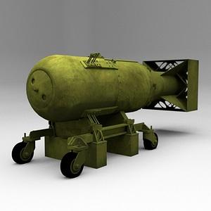 Atomic-Bomb model 3d