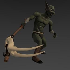 Goblin modelo 3D