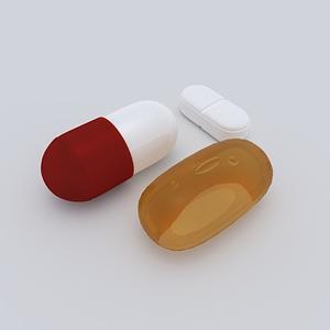 Pills 3D-Modell