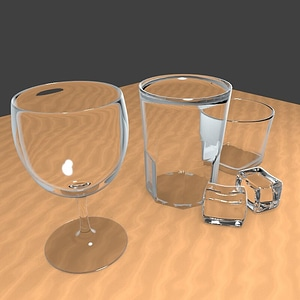 Glasses Collection 3D-Modell