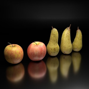 Apples and Pears 3D Model