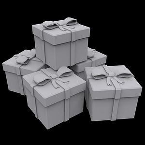 Presents Box 3D-Modell
