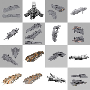 Battleships3D模型