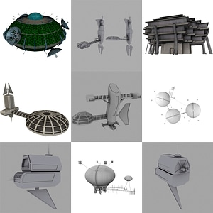 Space Research Labs 3D Model