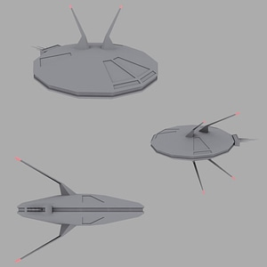 Satelites 3D-model