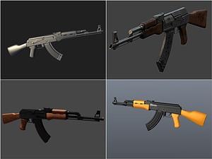 AK-47 Set 3D Model