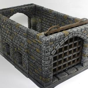 OpenForge Stone Gatehouse 3D Model