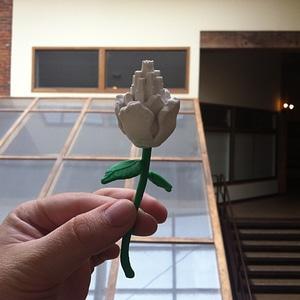 Castle flower 3D Model