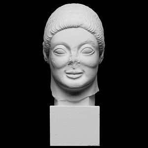 The Rayet Head 3D Model