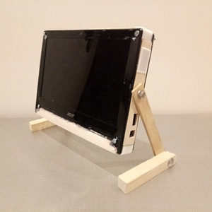 STAND MONITOR NETBOOK 3D Model