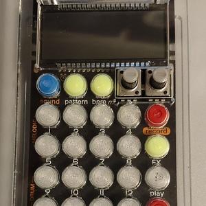 po acrillic case button 3D Model