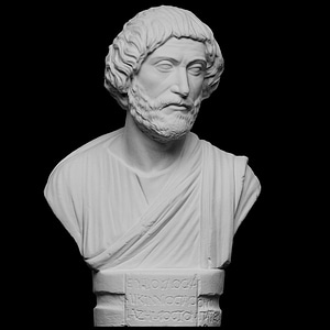 Portrait bust of a Barbarian 3D Model