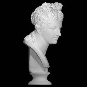 Bust of a woman 3D Model