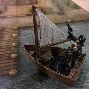 Rowboats 3D Model