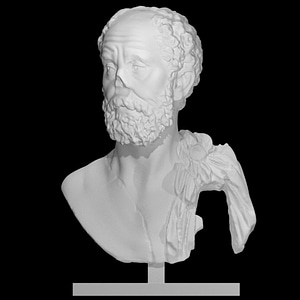 Bust of an unknown philosopher 3D Model