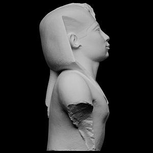 Portrait of Pharaoh Amasis 3D Model