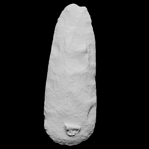 Polished Stone Axe 3D-model