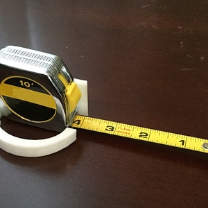 Tape Measure Stand 3D Model