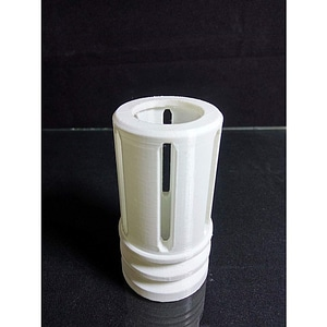 Nerf Flash Hider 3D Model