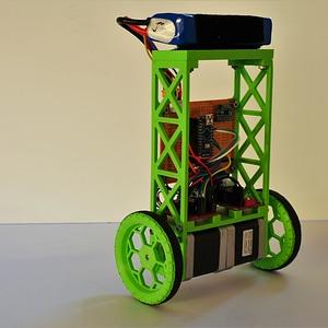 Ballancing bot frame 3D Model