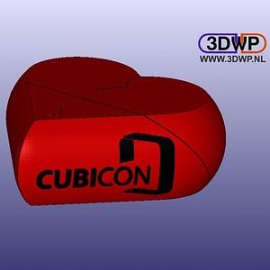 Secret Cubicon Heart Box (Remix) 3D Model