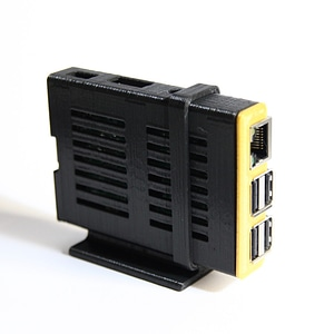 Stand for Sleeve Case for Raspberry Pi B+ 3D Model