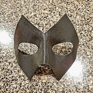 Super Hero Mask 3D Model
