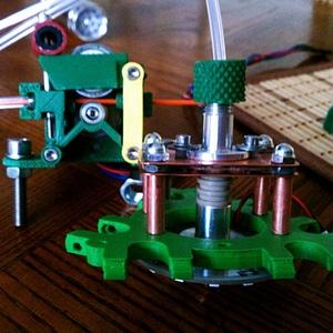A Hot End Bowden adapter 3D Model