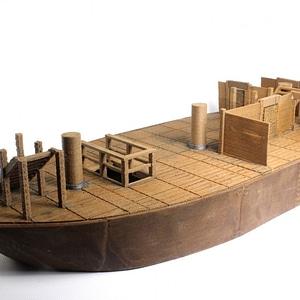 Pirate Ship Upper Hold 3D Model