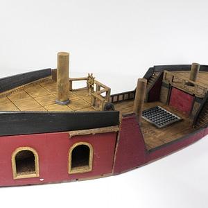 Pirate Ship Poop Deck 3D Model