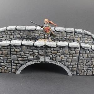 OpenLOCK Stone Bridge 3D Model