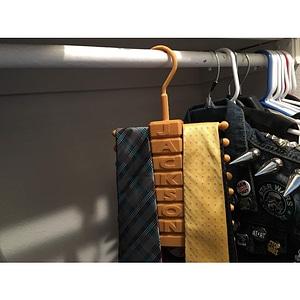 Tie Hanger 3D Model