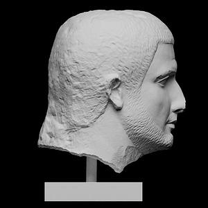 Bust of a man 3D Model