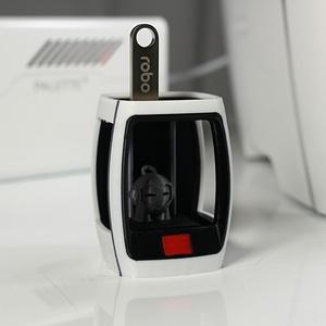 Robo R2 USB Holder 3D Model