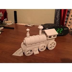 Choo Choo Train 3D Model