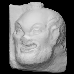 Theatrical Mask 3D-Modell