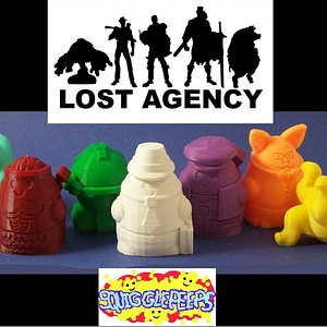 Squigglepeeps: The Lost Agency (Series 1) 3D Model
